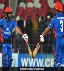 Afghanistan Topple Records In 2nd T20I Against Ireland In Dehradun