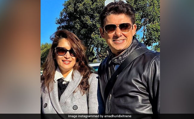 'Happy Birthday To My Best Friend And Life Partner,' Madhuri Dixit Wishes Husband Shriram Nene