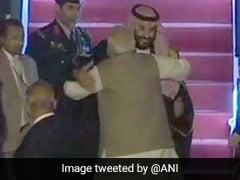 सऊदी अरब के शाहजादे मोहम्मद बिन सलमान भारत पहुंचे, एयरपोर्ट पर PM मोदी ने किया स्वागत