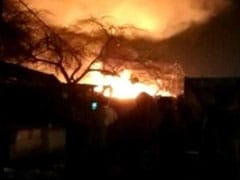 Fire In Delhi Slum Burns 250 Huts, Cooling Operations Underway