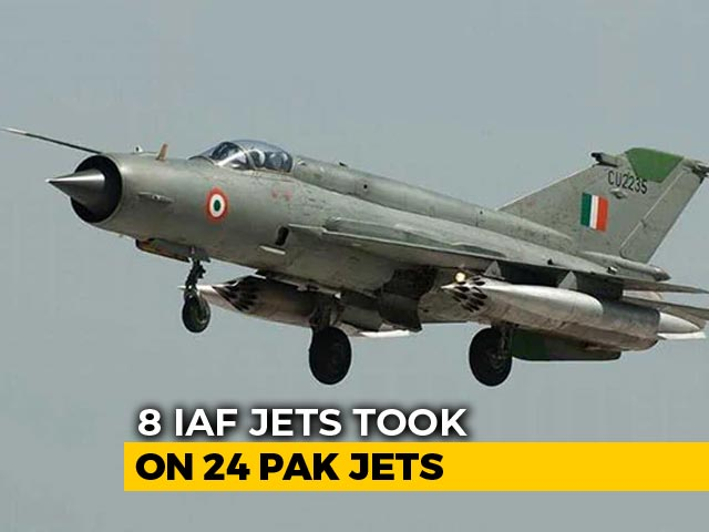 Video : 24 Pakistani Jets Tried To Cross Over, Stopped By 8 Air Force Fighters
