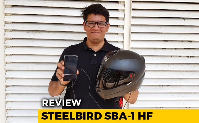 Video : Steelbird SBA-1 HF Hands Free Helmet Review