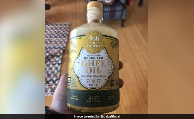 'Grass-Fed Ghee Oil' Horrifies Indians On Twitter