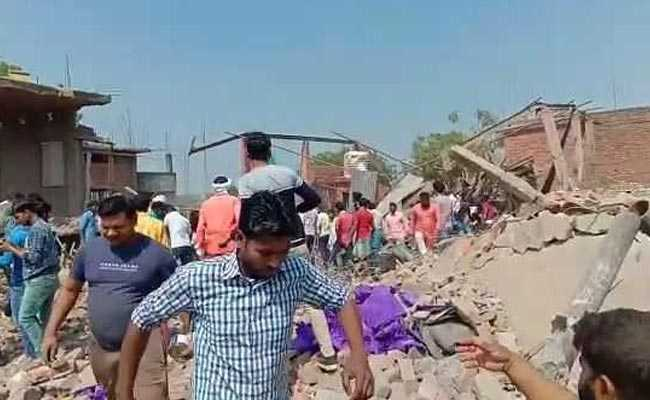 11 Killed In Explosion At Carpet Factory In UP's Bhadohi District