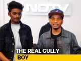 Video : When Gully Boys Did An NDTV Rap