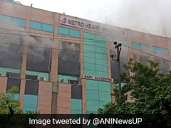 Had To Break Windows Because Of Smoke: People Recount Noida Hospital Fire
