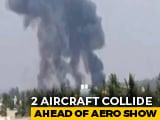 Video : 2 Jets Of Air Force Aerobatics Team Crash In Bengaluru, Pilots Eject: Report