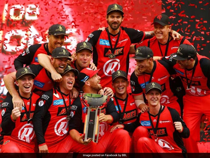 BBL: Melbourne Renegades Win Big Bash Final After Stars Implode