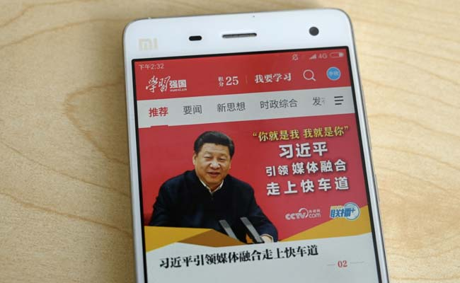 China's 'Xi Cult App' Propagating Its President Becomes An All Time Hit