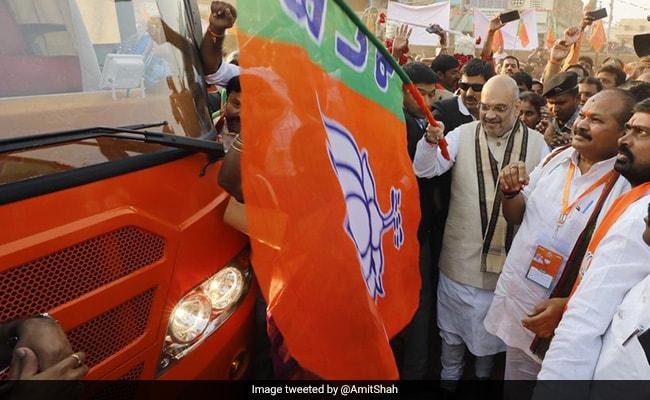 No Place For Chandrababu Naidu In National Democratic Alliance: Amit Shah