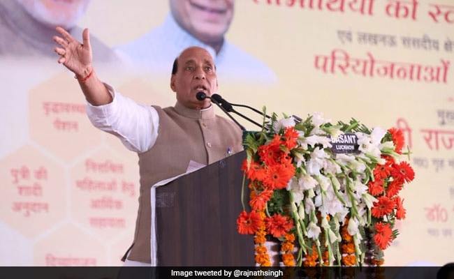 Lucknow Has Become 'Luck-Now' For Entire Uttar Pradesh: Rajnath Singh