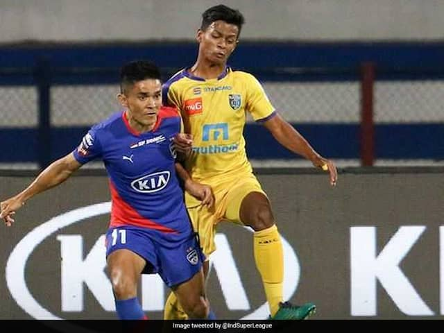 ISL: Bengaluru FC Fight Back To Snatch A Point Against Kerala Blasters