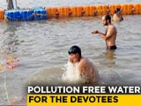 Video : Kumbh 2019: How Authorities Are Keeping The Ganga Clean