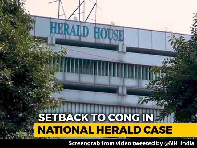 Video : Court Orders National Herald Publisher To Vacate Delhi Building