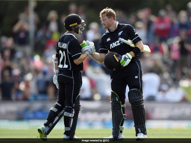 2nd ODI: Martin Guptill Century Secures Series For New Zealand Over Bangladesh