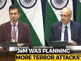 "Video : ""Very Large Number Of Terrorists"" Killed In Strike On Jaish Camp: India"