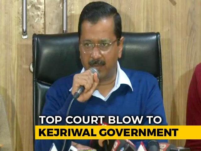 """Video : """"Supreme Court Order Against Democracy"""": Arvind Kejriwal After Setback"""