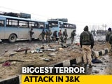 Video : Scorpio SUV With 350 Kg Explosives Rammed CRPF Bus