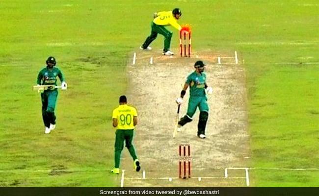 इस पाकिस्तानी बल्लेबाज को आउट करने में निकल गए अंपायर के पसीने, वायरल हुआ VIDEO