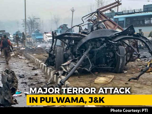 Video : 40 CRPF Men Killed In Blast In Kashmir's Pulwama, Worst Attack In Years