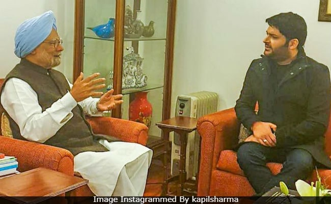 Kapil Sharma Met Former PM Manmohan Singh. Here's What They Talked About