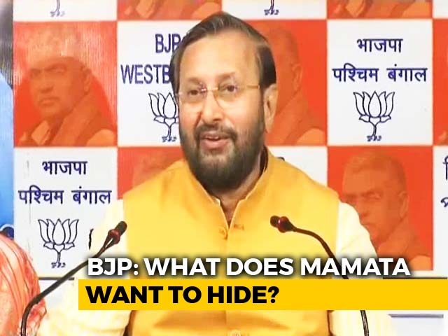 Video : In Mamata Banerjee vs CBI, BJP Brings Up A Red Diary, Pen Drive