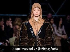 """""""Suicide Is Not Fashion"""": Burberry Sweatshirt With Noose Knot Condemned For Evoking Suicide"""