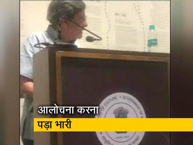 Video : अमोल पालेकर को सरकार की आलोचना करना पड़ा भारी, कार्यक्रम के बीच में रोक दिया गया