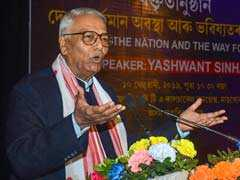 Constitutional Institutions Decimated Under PM Modi, Says Yashwant Sinha