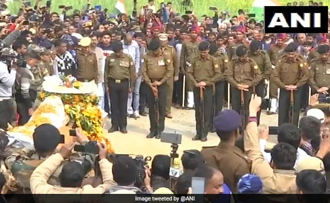 Haryana Soldier Killed In Pulwama Encounter Cremated With Full State Honours