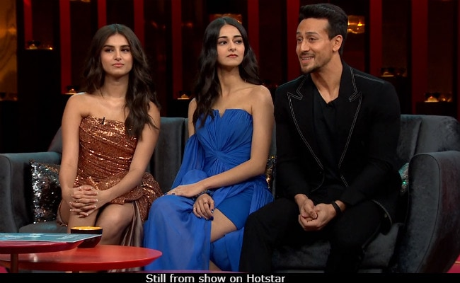 Koffee With Karan 6: Ananya Panday, Tara Sutaria React After Tiger Shroff Says 'They Are Fake With Each Other'