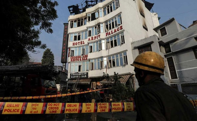 2 Myanmar Pilgrims Among Dead In Delhi Fire Another Jumps Off Survives