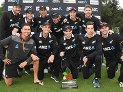 Southee, Taylor Help New Zealand Whitewash Bangladesh In ODIs