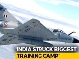 "Video : India Hits Main Jaish Camp In Balakot, ""Non-Military"" Strike: Government"