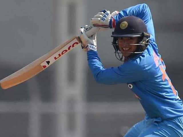 I would Say I Have To Bat Till 20 Overs, Says Smriti Mandhana