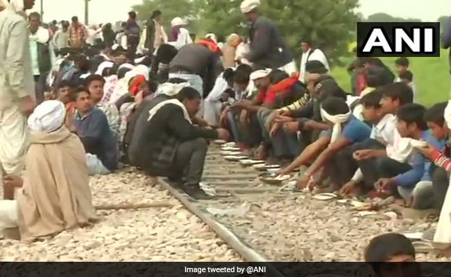 7 Trains Cancelled, 9 Diverted In Rajasthan Over Gujjar Agitation