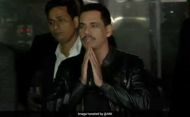 Enforcement Directorate Questions Robert Vadra For 9 Hours On Second Day