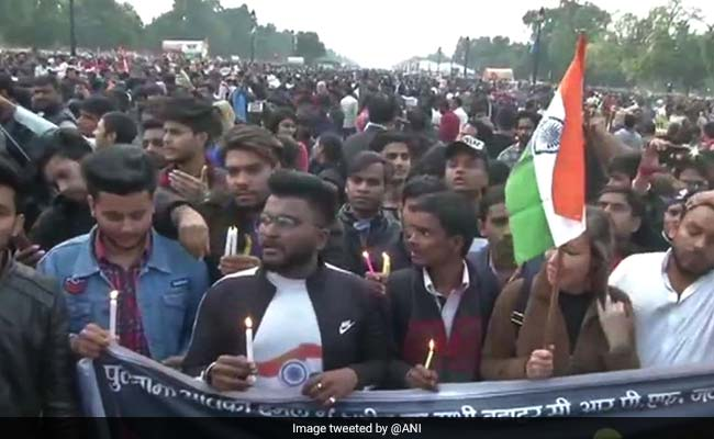 Candlelight Marches, Protests Across India To Condemn Pulwama Attack