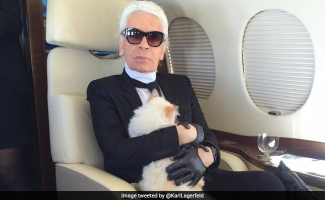 Image result for In White Shirts And Black Glasses, Karl Lagerfeld Ruled The Fashion World