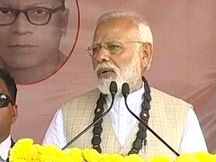 PM Praises Citizenship Bill As He Launches BJP's Poll Campaign In Bengal