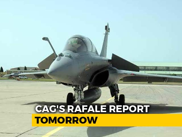 Video : Rafale CAG Report In Parliament Tomorrow, No Mention Of Pricing: Sources
