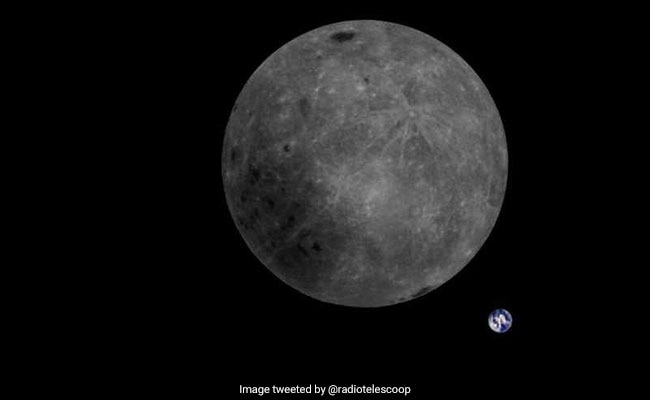 Stunning Image Of Moon's Rear Side Captured By Chinese Satellite