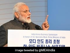 "We Welcome South Korean Businesses To ""The Indian Dream"": PM Modi"