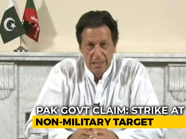 "Video : Pak Claims ""Strikes Across Line Of Control From Within Pak Airspace"""