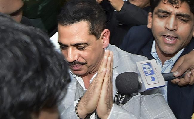 'No Rush, Have To Earn It': Robert Vadra Dials Down Election Buzz