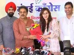 TV Actor Shilpa Shinde Joins Congress