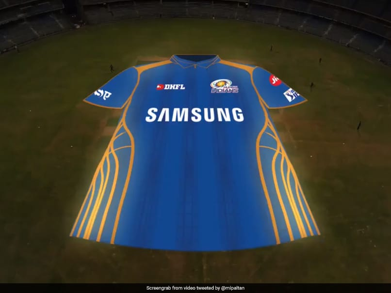 Watch: Mumbai Indians Unveil New Jersey For IPL 2019