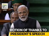 Video : Government Has Acted Against Corruption, Says PM In Lok Sabha