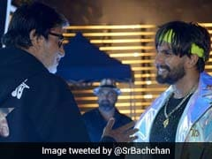 <I>Gully Boy</I> Ranveer Singh Posts About Note From Amitabh Bachchan, Shweta Leaves Emoji Comment