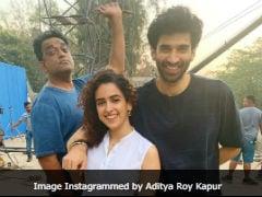 Seen This Pic Of Aditya Roy Kapur, Sanya Malhotra And Anurag Basu Yet?